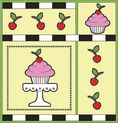 Cupcake Alternate Layout