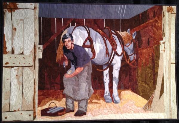 The Blacksmith by Melissa Burdon