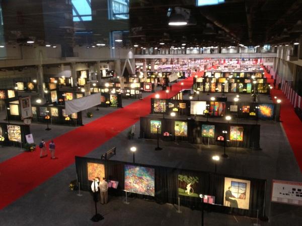 Cincinnati Quilt Show 2013