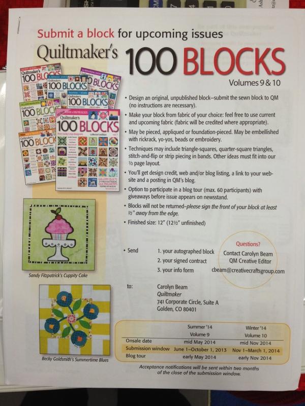 100 Blocks Flyer