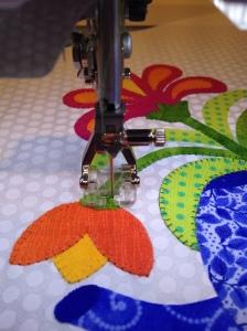 Teapot stitching